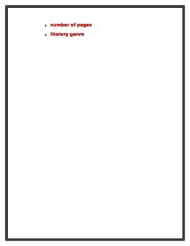 Recipe Book Report