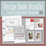 Recipe Book Template Bundle