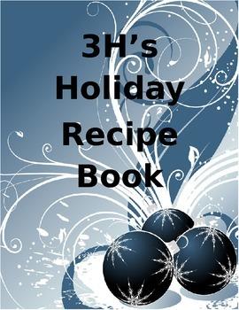 Recipe Book Title Page