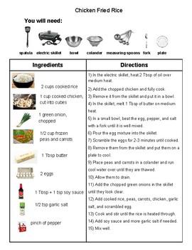 Recipe: Chicken Fried Rice