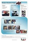 Recipe: Chocolate Fudge visual photo sequence