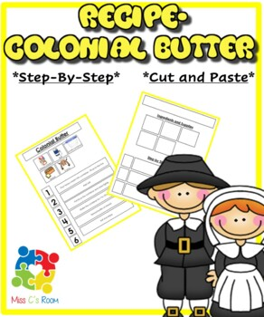 Recipe- Colonial Butter