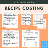 Recipe Costing - pounds (lb) and ounces (oz)
