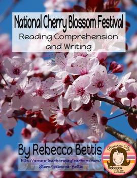 Recipe for Reading Comprehension - Cherry Blossom Festival