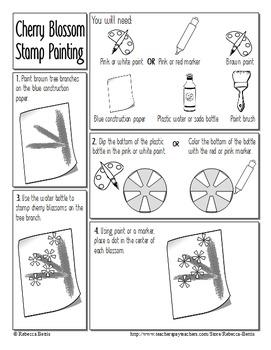 Recipe for Reading Comprehension - Cherry Blossom Festival