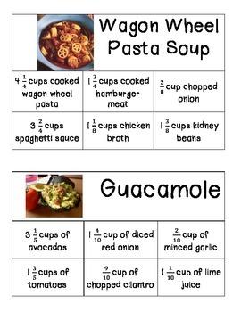 Recipe Math - Easy