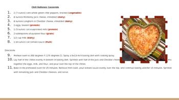 Recipe Mini Project Example