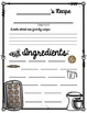 Recipe Pages Free (Holiday Recipe Template)