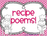 Recipe Poems (Great for Mother's Day/Father's Day!)