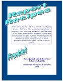 Report Recipes - Biographies