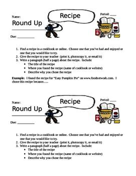 Recipe Round Up- Thanksgiving