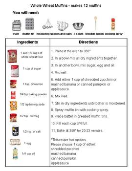 Recipe: Whole Wheat Muffins