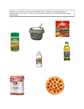 Recipe for Class Reading:  Read You Way to a Pizza Party