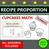 Math - Ratio - Proportion - Fairy Cakes - Recipe Questions