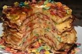 Recipe for Fruity Pebble Pancakes