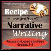Recipe for Narrative Writing (researched-based strategy)