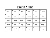 Recipe for Reading Four In A Row: dr/tr
