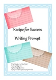 Recipe for Success Writing Prompt