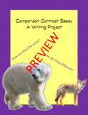 Recipe for Writing: Comparison-Contrast Essay