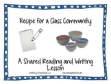 Recipe for a Community - Shared Poetry Reading and Writing