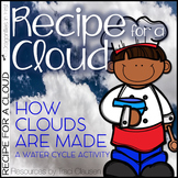 Water Cycle - Cloud Science Lesson Activity and Craft - Re