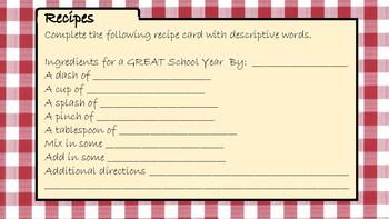 Recipe for a Fabulous School Year