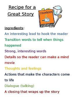 Recipe for a Great Story