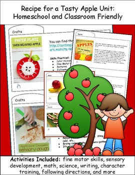 Recipe for a Tasty APPLE Unit Study