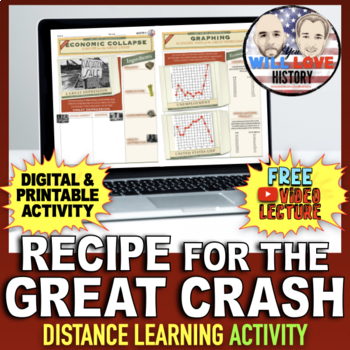 Recipe for the Great Crash Activity