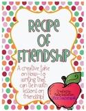 Recipe of Friendship Writing Activity