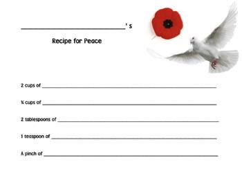 """Recipe of """"Peace"""""""