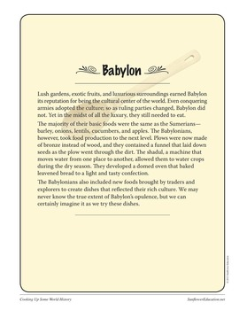 Recipes From Babylon