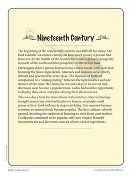 Recipes From The Nineteenth Century