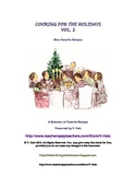 Recipes for Christmas FREE recipe booklet