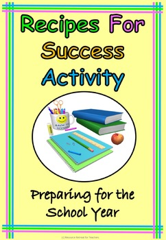 Recipes for Success Procedure Back to School or End of Yea