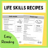 Life skills cooking pack for teens easy reading style