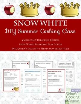 Recipes from Books and Movies #1 - Cooking, Literacy and Service Activities
