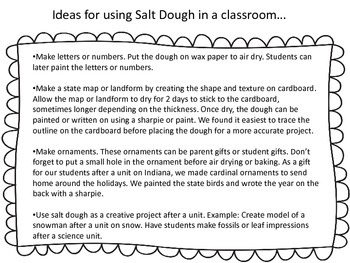 Recipes in the classroom