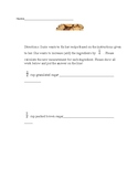Recipes using Fractions