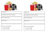 Reciprocal Conversation, Movie Theater Cue Card, Social Co