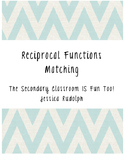 Reciprocal Functions Matching Cards