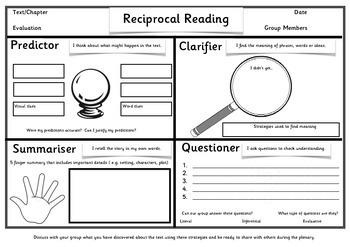 Reciprocal Reading A3 Collaborative poster