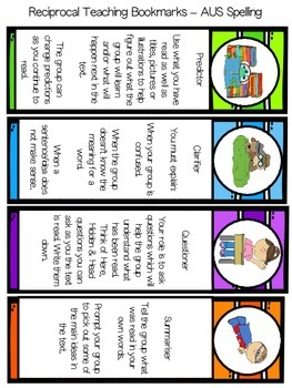free reciprocal reading bookmarks by mrs n by mrs n 39 s classroom tpt. Black Bedroom Furniture Sets. Home Design Ideas