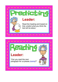 Reciprocal Reading Cards