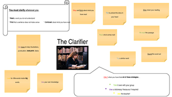 Reciprocal Reading Cards - Harry Potter Theme