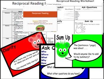 Reciprocal Reading JUNIOR Pack - US spelling