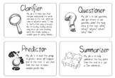 Literature Circle / Reciprocal Reading Pack - Role / Obser