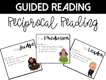 Reciprocal Reading Role Cards