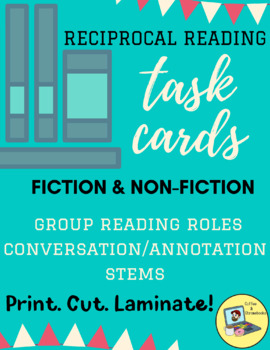 Reciprocal Reading Task Cards