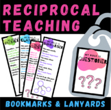 Reciprocal Teaching   Lanyards and Bookmarks   Reciprocal Reading